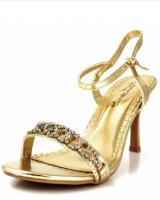 Golden West Shoe Shannon-05.  Available in Gold, Silver