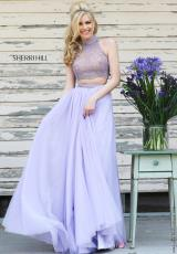 Sherri Hill 11220.  Available in Blush, Lilac
