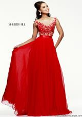 Sherri Hill 11151.  Available in Aqua/Nude, Coral/Nude, Ivory/Nude, Navy/Nude, Nude/Nude, Periwinkle/Nude, Pink/Nude, Red/Nude, Royal/Nude, Silver/Nude