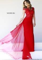 Sherri Hill 21365.  Available in Black, Ivory, Red
