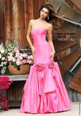 Sherri Hill 32235.  Available in Black, Ivory, Pink, Red