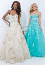 Tony Bowls Le Gala 114543.  Available in Gold, Pink, Turquoise