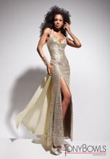 Tony Bowls Le Gala 113514.  Available in Gold, Pewter, Silver, Taupe