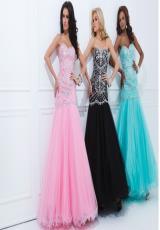 Pink, Black, and Aqua