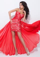 Tony Bowls Paris 114725.  Available in Lavender/Nude, Pink/Nude, Red/Nude