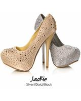 Sweetie's JACKIE.  Available in Black, Gold, Silver