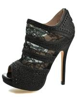 Blossom-Footwear Yael-53.  Available in Black Sparkle, Champagne Sparkle