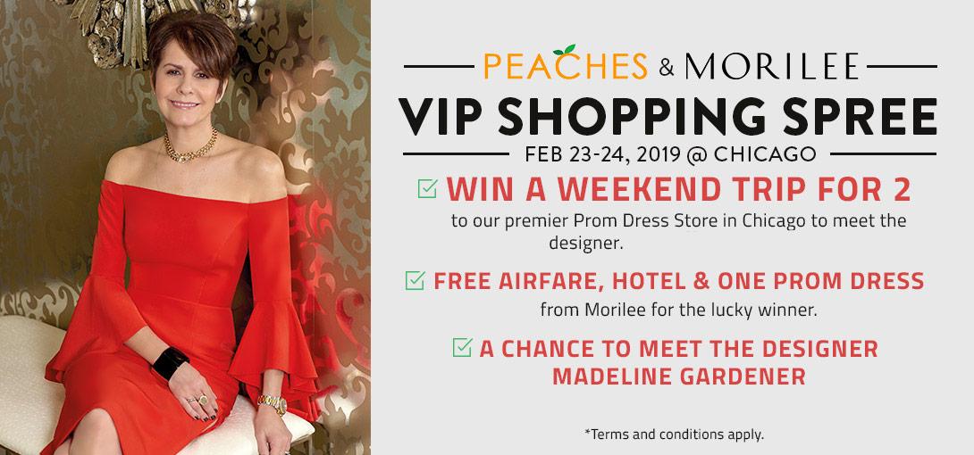 Peaches Morilee VIP
