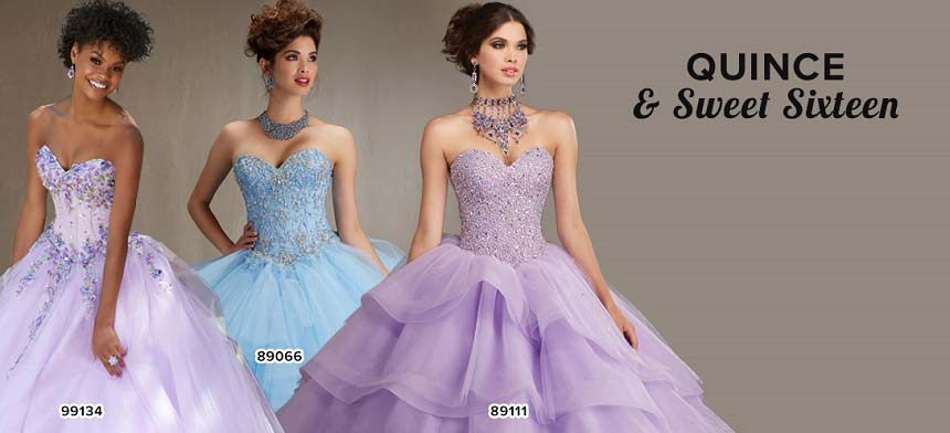 Tan Sweet 16 Dresses