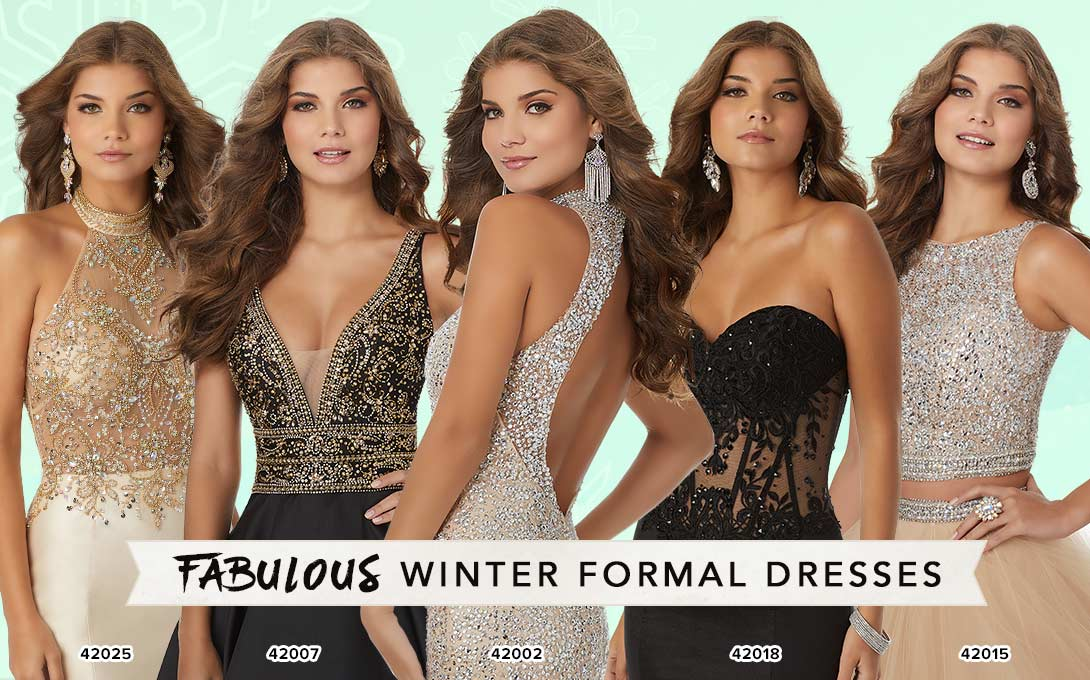 Winter Formal Dresses at Peaches Boutique