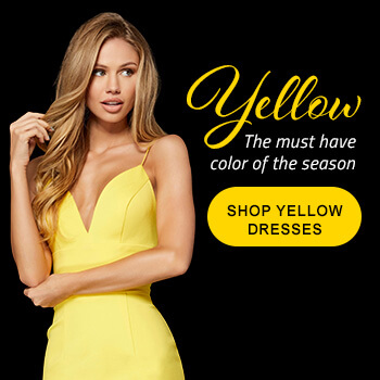 Shop yellow prom dresses