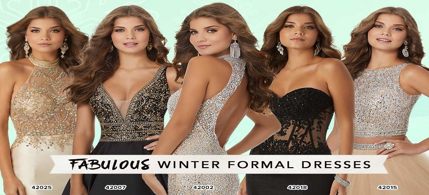 dresses for winter formal