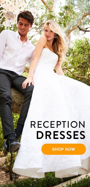 Wedding Reception Dresses at Peaches
