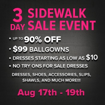 Sidewalk Sale Dresses