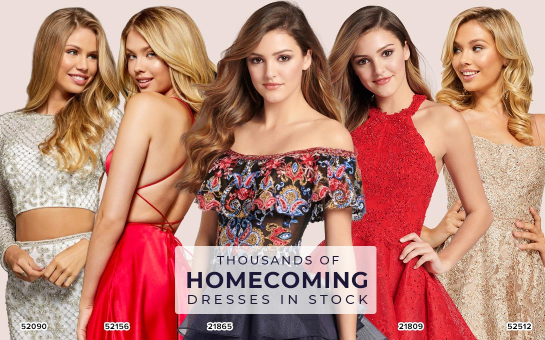 Homecoming Dresses at Peaches