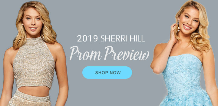 Sherri Hill Prom Preview at Peaches