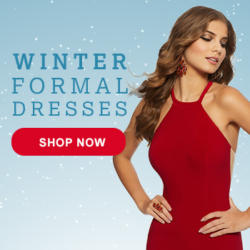 Shop Winter Formal dresses at Peaches