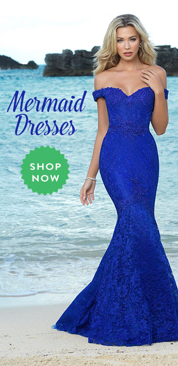 Shop Mermaid Prom Dresses