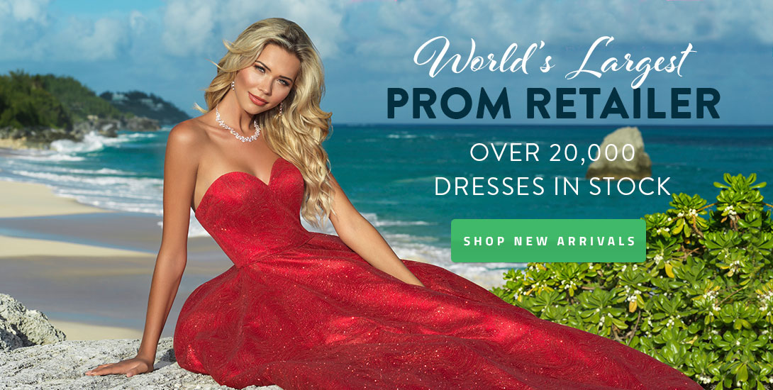3b8ae7419fc Largest Prom Retailer. Previous Next. Sezzle. Shop 2019 Homecoming Dresses
