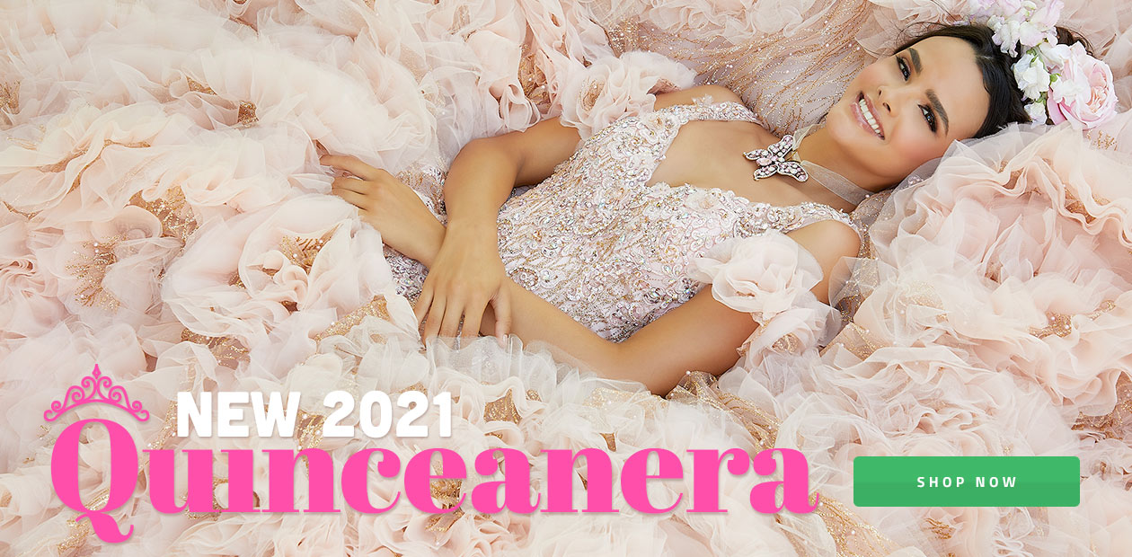 Shop Quinceanera Dresses in stock