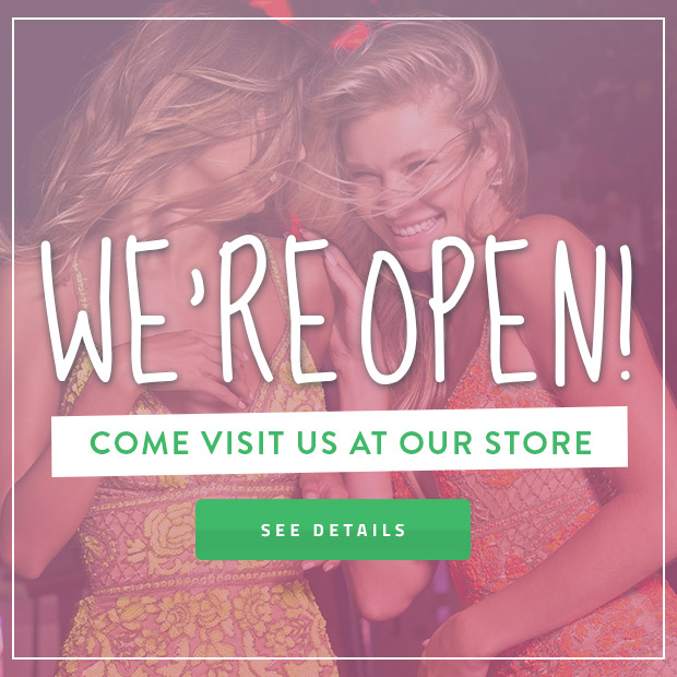 We're Open Shop Now
