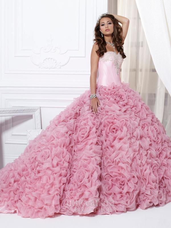Stunning Corset Tiffany Quince Dress 26702