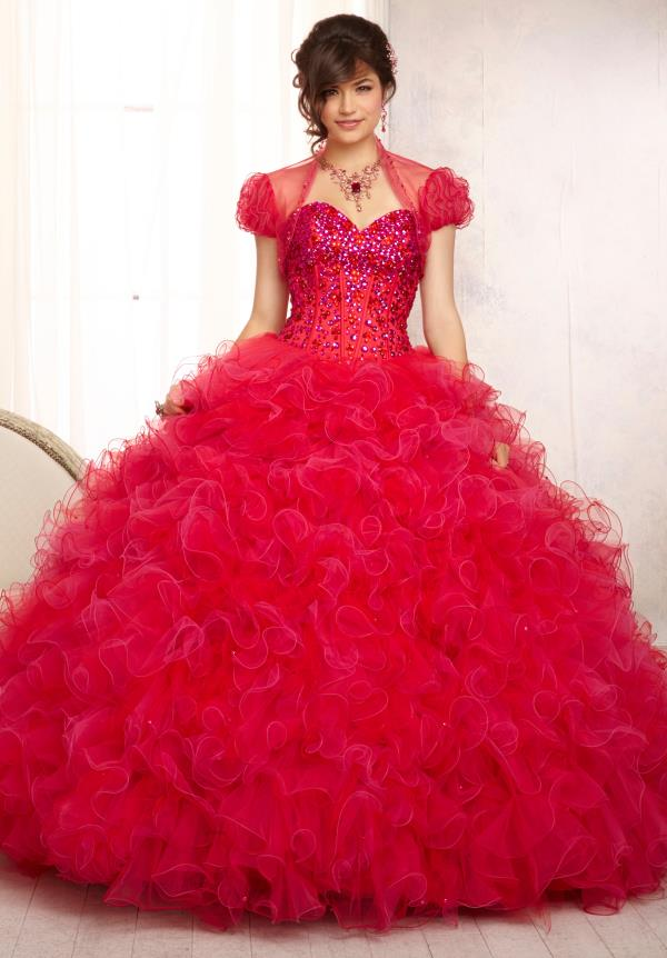 Vizcaya Quinceanera Beaded Dress 88098