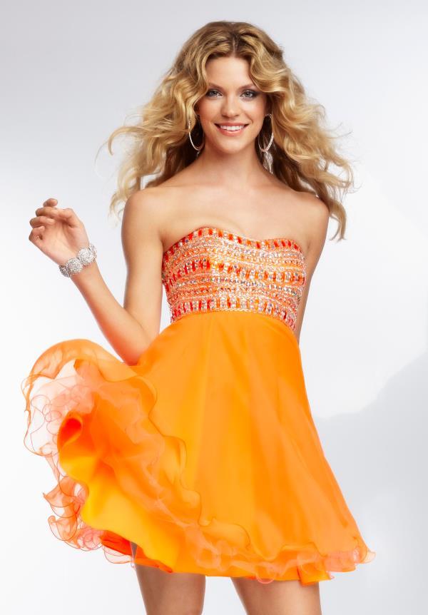 Bright Neon Prom Dresses
