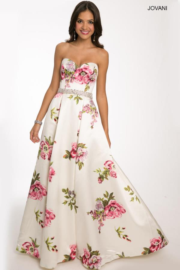 Jovani Gorgeous A-line Dress 23947