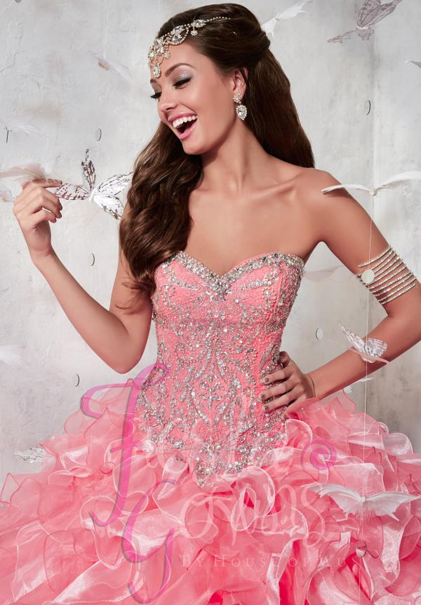 Amazing Long Tiffany Fiesta Dress 56270