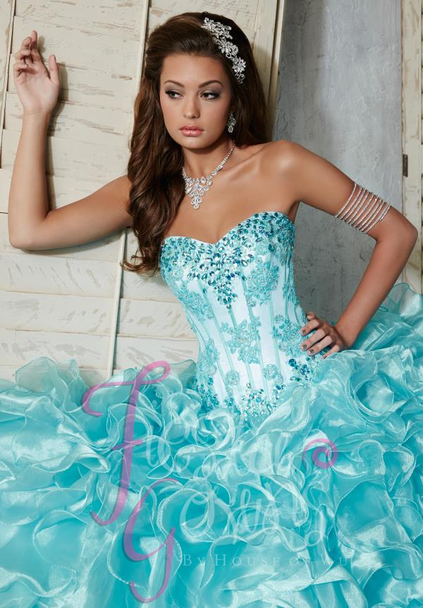 Tiffany Fiesta Amazing Organza Dress 56273