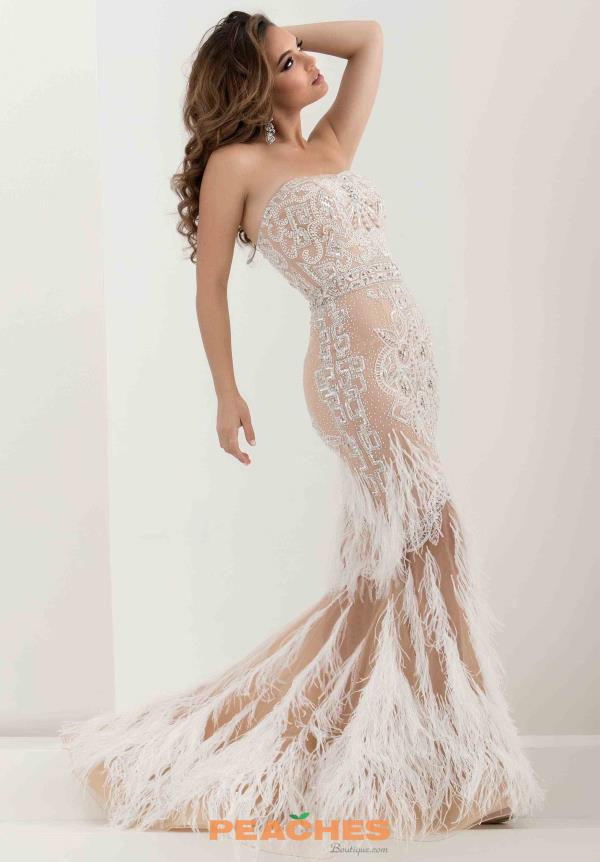 Sexy Beaded Jasz Couture Dress 5568