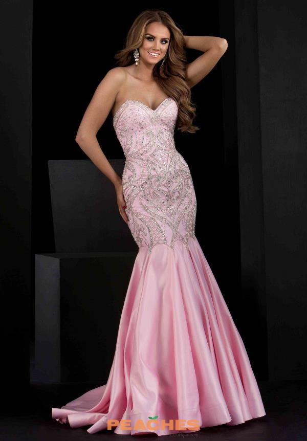 Jasz Couture Beaded Mermaid Dress 5616