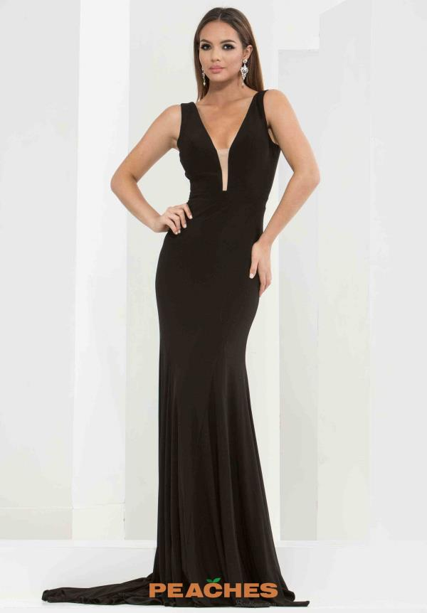 Jasz Couture Fitted Long Dress 5649