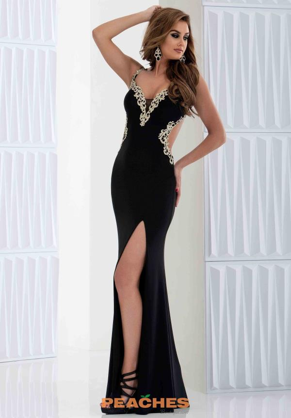 Sexy Open Back Jasz Couture Dress 5682