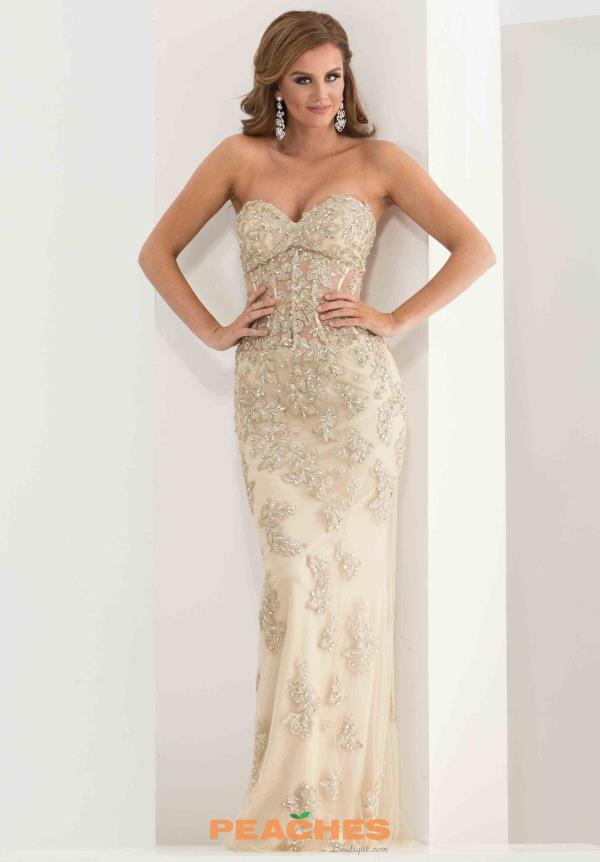 Strapless Lace Jasz Couture Dress 5720