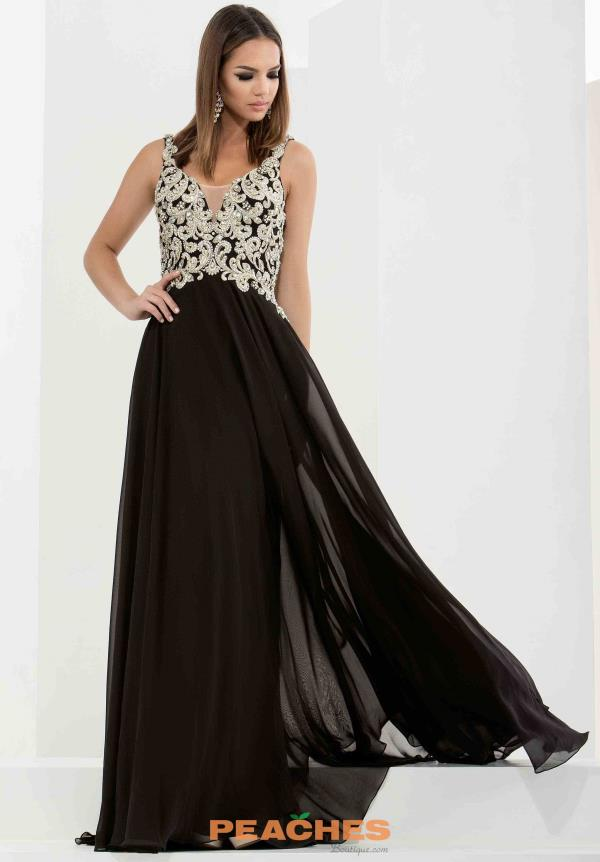 Jasz Couture Two Straps Long Dress 5733
