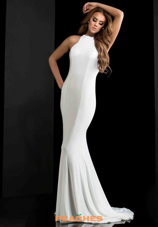 Sexy Open Back Jasz Couture Dress 5758