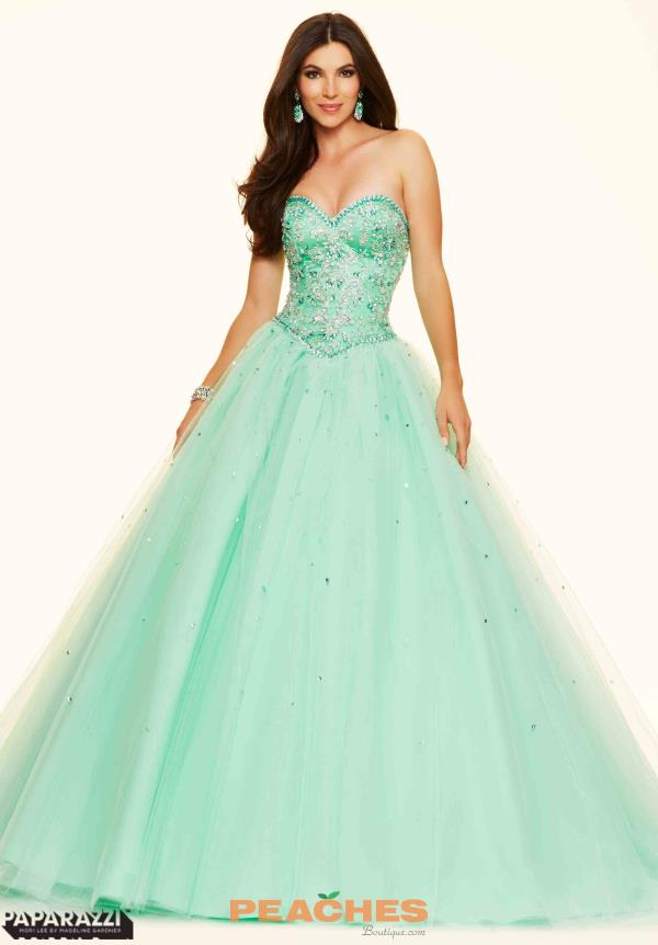Sweet Sixteen Beaded Mori Lee Dress 98006