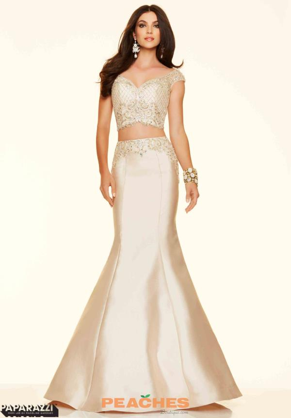 Mori Lee Two Piece Mermaid Dress 98013