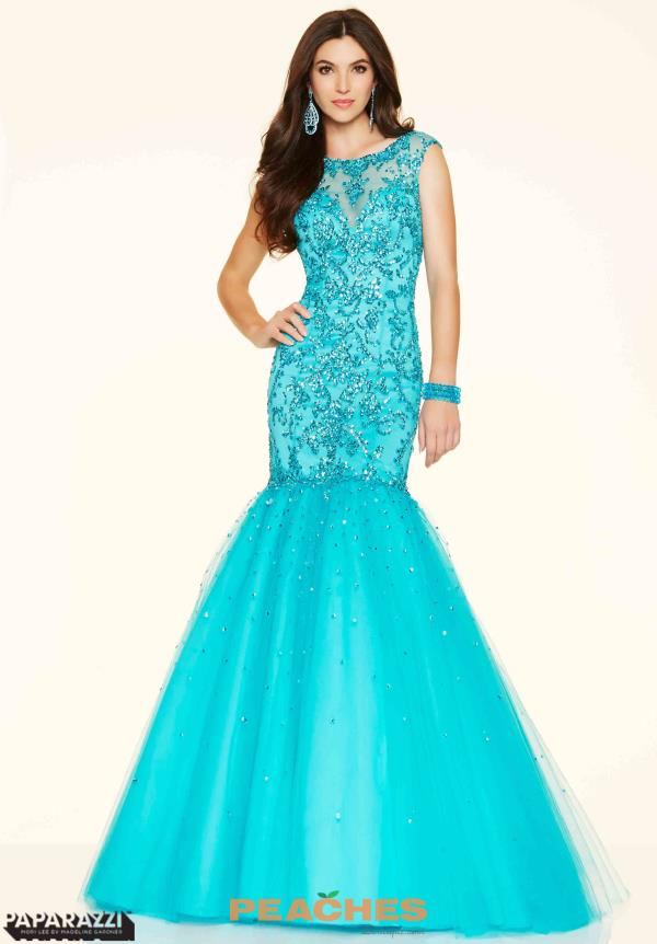 Mori Lee Beaded Mermaid Dress 98032