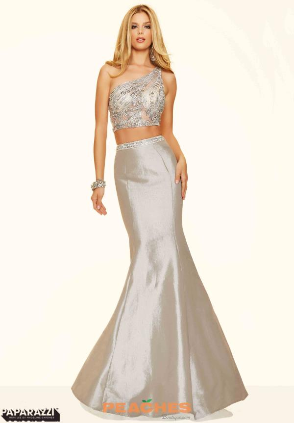 Mori Lee Two Piece Mermaid Dress 98039
