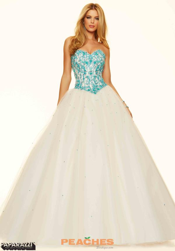 Mori Lee Sweetheart Neckline Ball Gown 98079