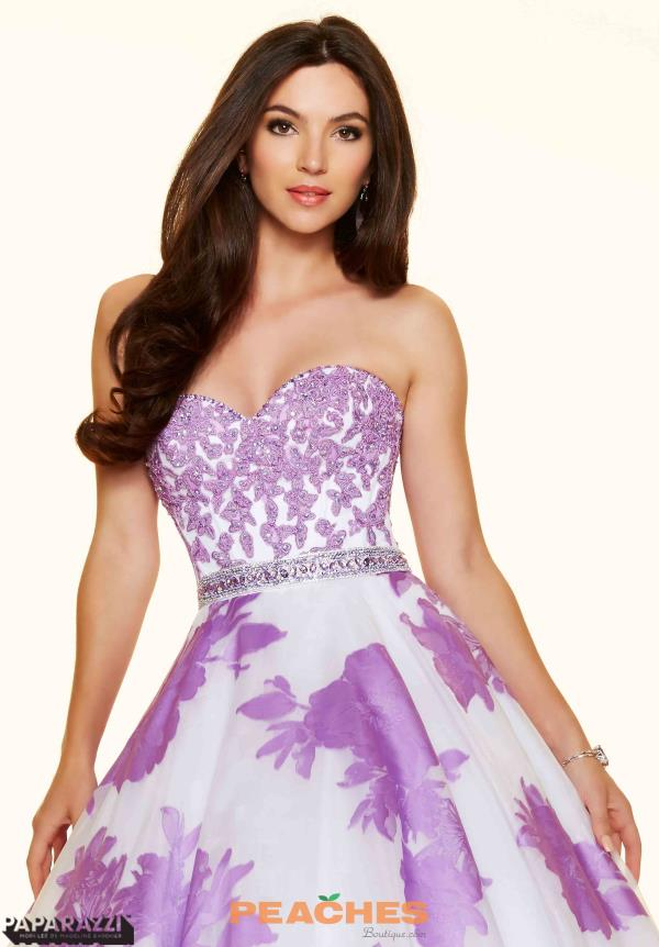 Mori Lee Beaded A-Line Prom Dress 98097
