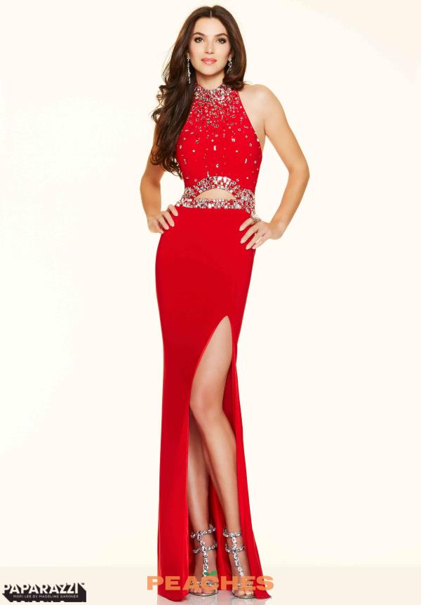 Mori Lee Sexy Fitted Red Dress 98123