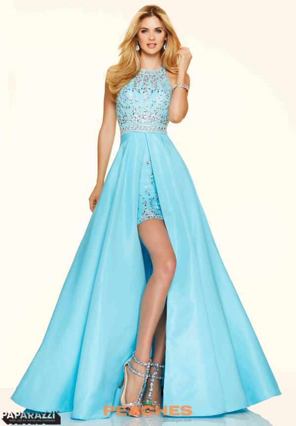 Mori Lee Stunning High Low Dress 98001