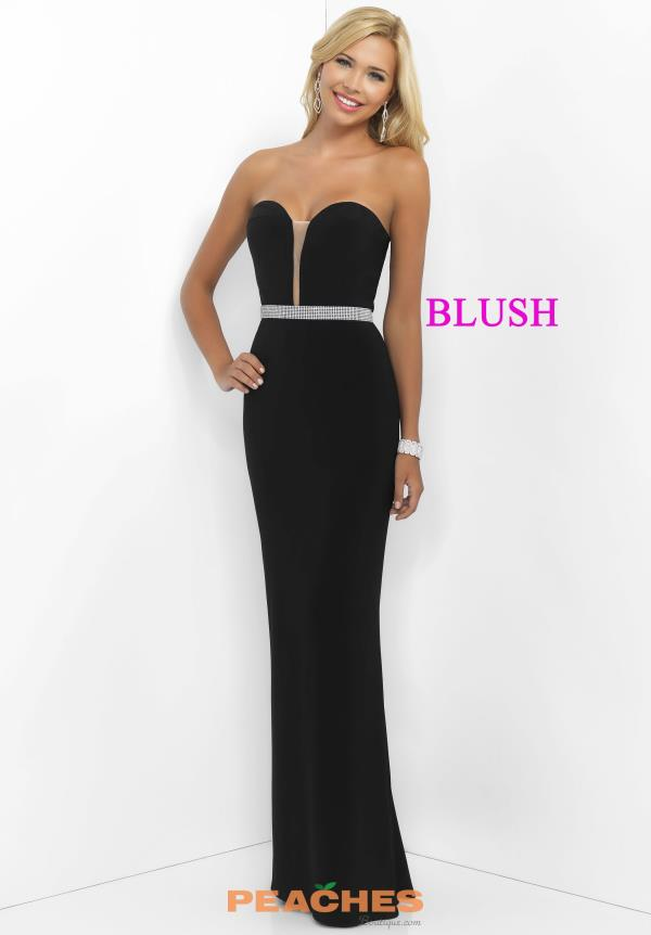 Strapless Evening Gown by Blush 11010