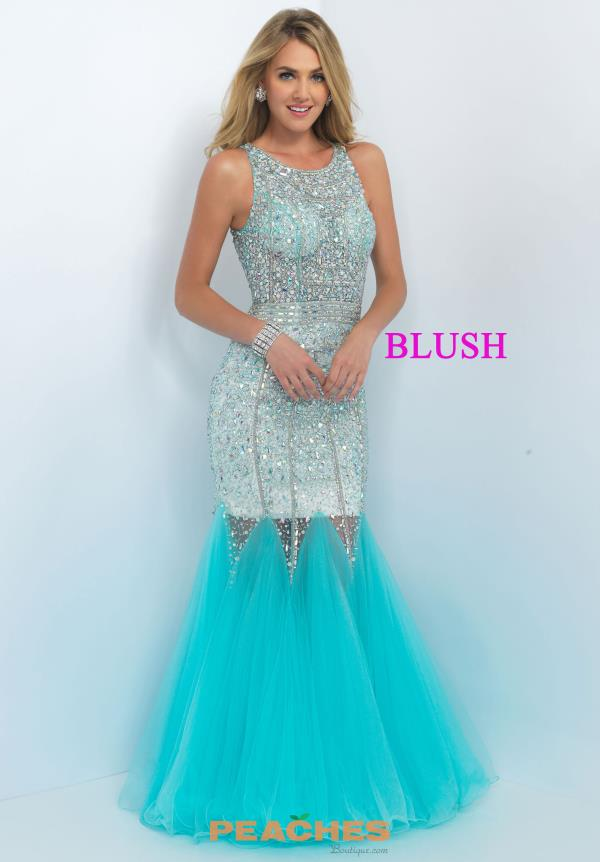 Gorgeous Fitted Blush Dress 11101