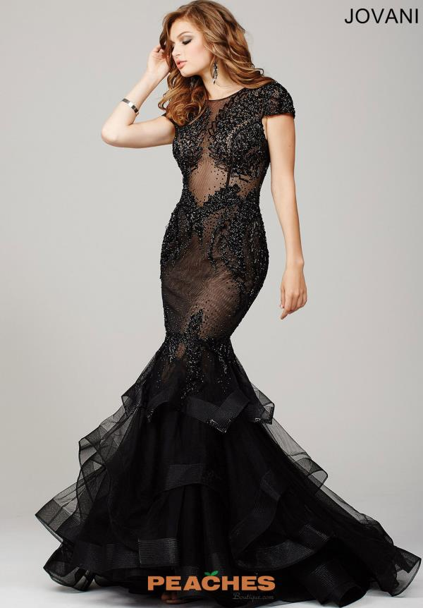 Sexy Beaded Jovani Dress 26947