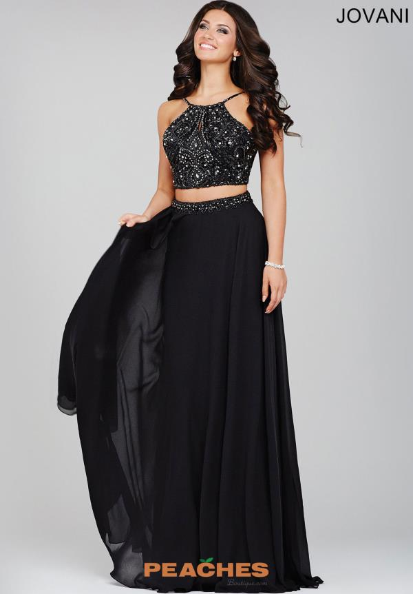 Stunning Chiffon Jovani Dress 33848